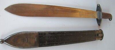 Brazilian Brazil WWI WW1 Period Short Sword w/ Scabbard