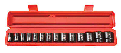 TEKTON 48171 1/2-Inch Drive Shallow Impact Socket Set, 11-32