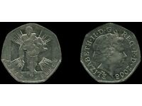 Rare 50 pence soldier 2006