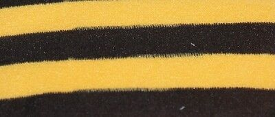 Bumble Bee Costume Kids (GIRLS Kids Costume Black Yellow Bumble Bee Garden Fairy Stripe Tights S M L)