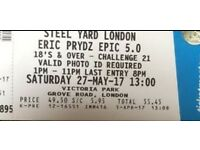 Steelyard ticket for sale £75
