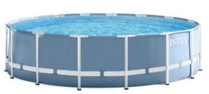 """Intex Above Ground Pool 16'x48"""" with Filter Pump extra equipment"""