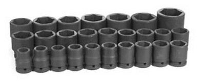 26-Piece 3/4 in. Drive 6-Point Metric Impact Socket Set GRY-8026M Brand New!