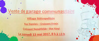 Community Garage Sale - Vente de garage communautaire