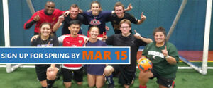 Play Rec, Co-ed, Adult, Turf Sports with FCSSC this Spring!