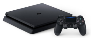1 TB PS4 Slim w/Controller and Game