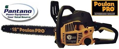 "Poulan Pro PP4218AV 42cc 18"" Gas Chain Saw  on Rummage"