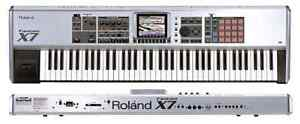 Roland Fantom X7 76-Key Sampling Workstation + Stand + Case