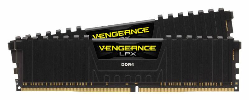 CORSAIR - Vengeance LPX 32GB (2PK x 16GB) 3.2 GHz DDR4 DRAM Desktop Memory Ki...