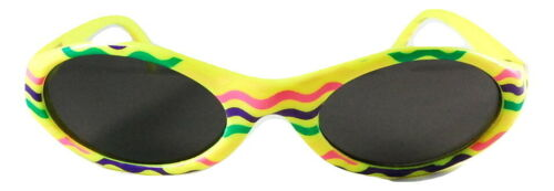Kid UV1001 Rubber Yellow Baby Sunglasses
