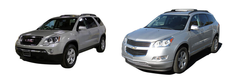 Traverse Vs Acadia >> Gmc Acadia Vs Chevrolet Traverse Ebay