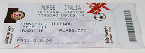 Ticket for collectors World Cup q * Norway - Italy 2008 in Oslo - <span itemprop=availableAtOrFrom>Internet, Polska</span> - Ticket for collectors World Cup q * Norway - Italy 2008 in Oslo - Internet, Polska