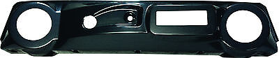 Club Car Golf Cart Carbon Fiber Dash with Speaker & Radio Holes fit DS 1982-Up