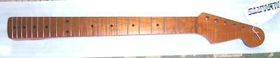 """Fender® Lic. Roasted Flame Maple Strat Neck~10"""" Radius~21 V"""