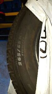 265/65/17 Michelin Latitude X Ice Winter Tires  Cambridge Kitchener Area image 2