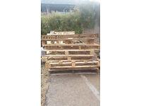Freebie - 80 plus wooden pallets