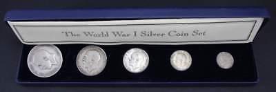 1914-1918 UK World War I Silver Coin Set
