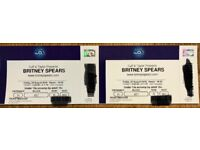 Britney Spears O2 Arena Tickets x 2