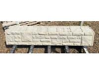 Rockface Concrete Gravel Boards - 12inch