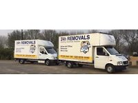 24H Removals & Man & Van Service - Professional, Reliable, Experienced - Competitive Prices