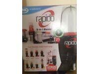 Rapido 8 in 1 blender ( brand new)
