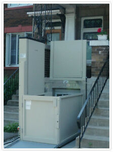 VPL Vertical Platform Lift, Wheelchair, porch/deck lifts, Ramps Kitchener / Waterloo Kitchener Area image 1