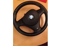 bmw 3 series coupe steering wheel and airbag m sport e92