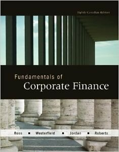 Fundamentals of Corporate Finance, 8th Canadian edition