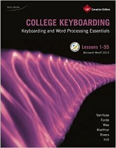 College Keyboarding Lessons 1-55