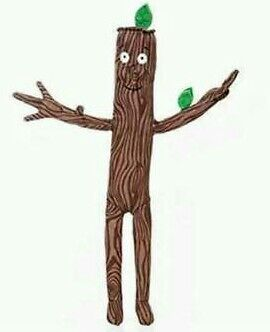 Stick Man 12 Inch Soft Toy @sk30