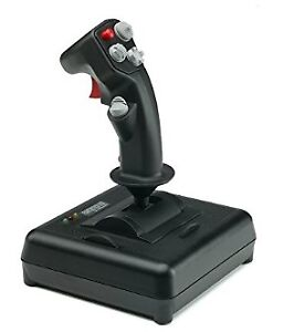 CH Products 200-571 Fighterstick Joystick USB - Fly Simulation