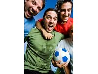 8 a side team needed for a friendly Football League at Westway Sports Centre in West London