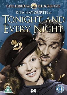 DVD:TONIGHT AND EVERY NIGHT - NEW Region 2 UK