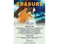 **ERASURE** Tickets for Caird Hall 2/2/18