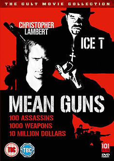DVD:MEAN GUNS - NEW Region 2 UK