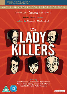 DVD:THE LADYKILLERS - 60TH ANNIVERSARY EDITION - NEW Region 2 UK