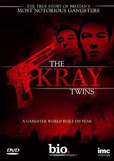 DVD:THE KRAY TWINS - HISTORY CHANNEL - NEW Region 2 UK