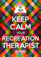 Recreational Therapist Services and Exercise