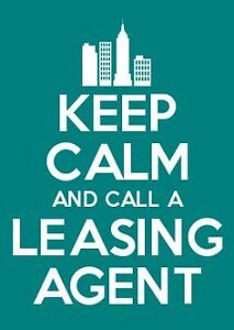 HIRE  A LEASING AGENT TO GET IT DONE