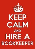 Are you STRESSED over paper work? Bookkeeper available to help.