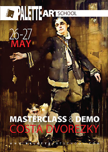 Victorian-Themed Figurative MASTERCLASS with Costa Dvorezky.
