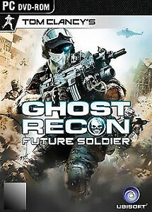 Tom Clancys Ghost Recon Future   Soldier  PC DVD-ROM  Game