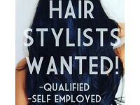Self employed hairstylists wanted