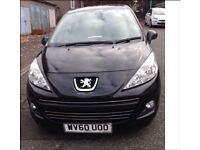 Peugeot 207, 1yr mot. immaculate