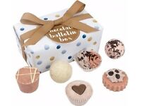 Chocolate balletin bath gift set