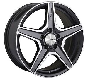 """18"""" Mercedes Staggered Winter Tires + Rims 225/45/R18 245/40/R18"""