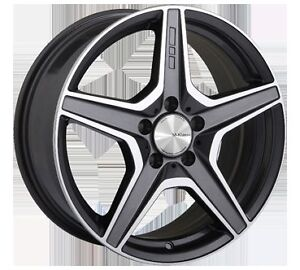 "M-Klasse 5x112mm alloy rims 18"" w/Winter tires Prince George British Columbia image 1"