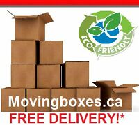 Moving Boxes Ottawa - FREE DELIVERY!*