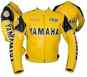 Yellow Motorcycle Jacket