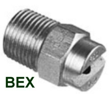 Bex sprayer nozzle F series stainless steel 1/8F4008